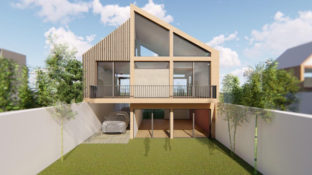 Construction maison individuelle à ossature bois
