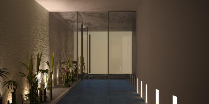 Réhabilitation lourde d'un immeuble de logement collectif : version 2 sans banc vue interieure