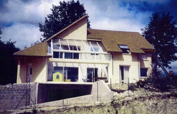 Réhabilitation d un vieille maison de banlieue : maison de campagne