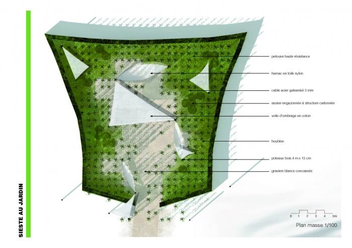 Sieste au jardin / 19ème FESTIVAL INTERNATIONAL DES JARDINS DE CHAUMONT-SUR-LOIRE : image_projet_mini_37409