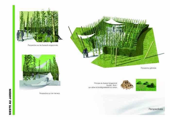 Sieste au jardin / 19ème FESTIVAL INTERNATIONAL DES JARDINS DE CHAUMONT-SUR-LOIRE