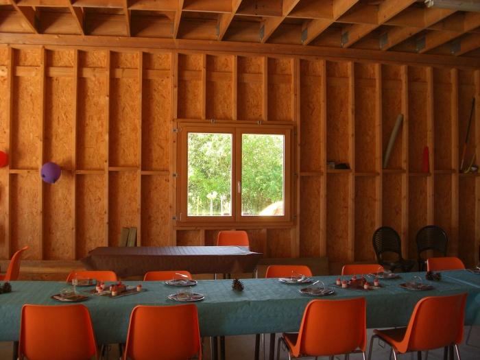Maison à ossature bois : CIMG4738