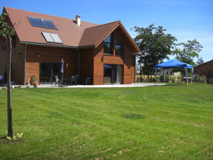 Maison à ossature bois : CIMG4739