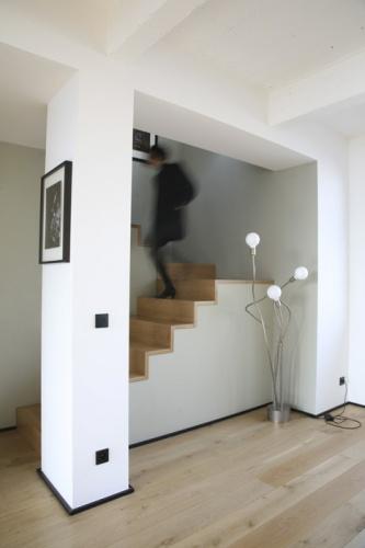 Loft Paris 19° : escalier