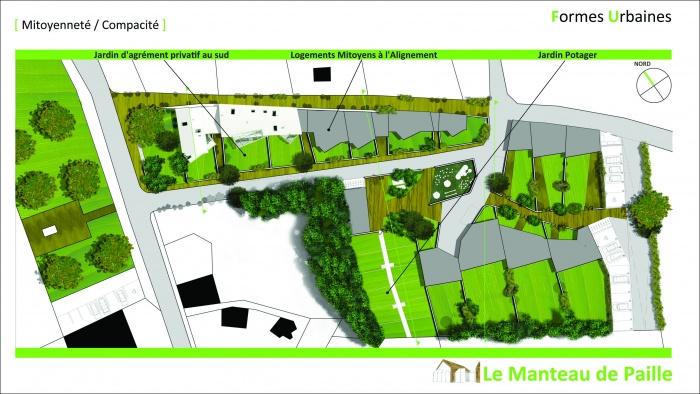 3 logements imbriqués, T2, T3 et T4 - Ecoquartier : 2011_02_16_Présentation Candes 7