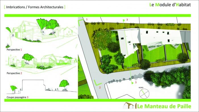 3 logements imbriqués, T2, T3 et T4 - Ecoquartier : 2011_02_16_Présentation Candes 9