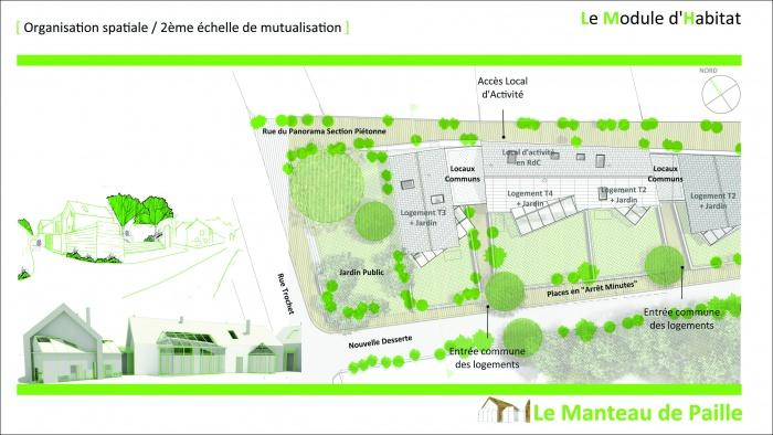 3 logements imbriqués, T2, T3 et T4 - Ecoquartier : 2011_02_16_Présentation Candes 11