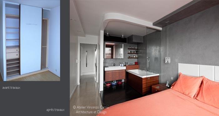 Rénovation - aménagement d'un appartement à Paris 11ème : 04 Atelier Carrisi SDB