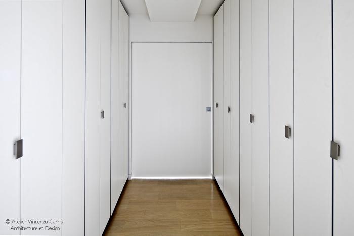 Rénovation - aménagement d'un appartement à Paris 11ème : Atzlizr Carrisi dressing_BIS