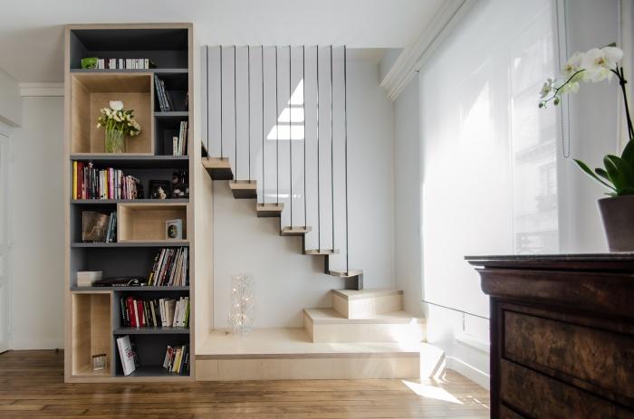 Appartement PE : L'escalier