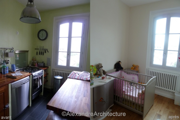 Appartement C : Chambre