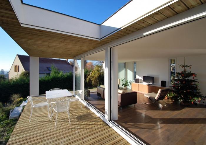 Extension d'une maison  à Andilly