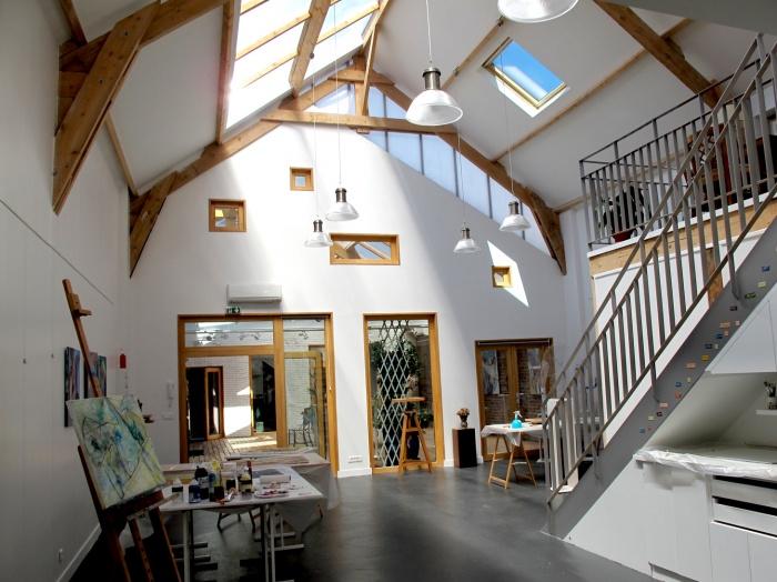 Une maison d'artistes : fred1