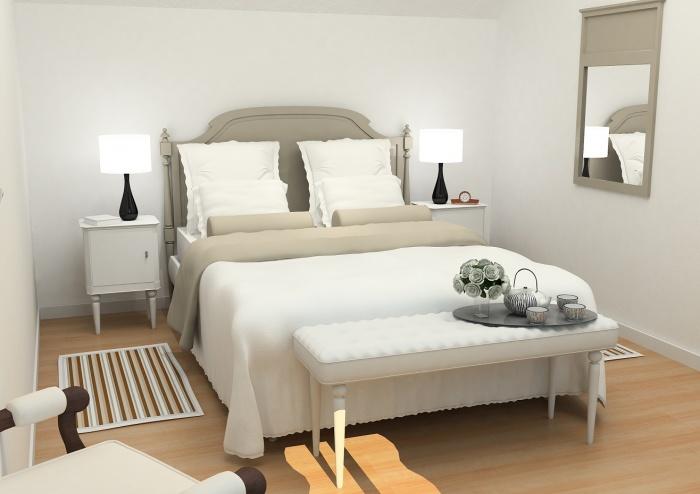 Résidence de tourisme 4 étoiles : Chambre - cottages1