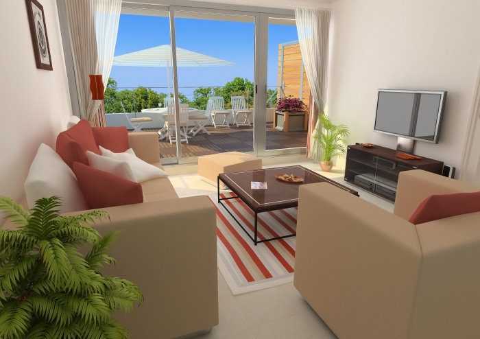 Résidence de tourisme 4 étoiles : Salon 2 - appartements1