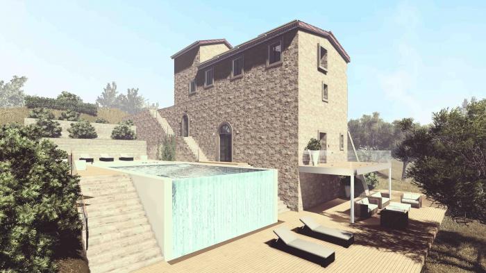 Réhabilitation d'une maison avec jardin : 08