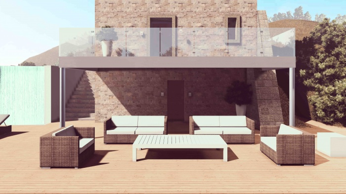 Réhabilitation d'une maison avec jardin : 10
