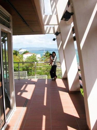 VILLA MIJO : Terrasse sur mer