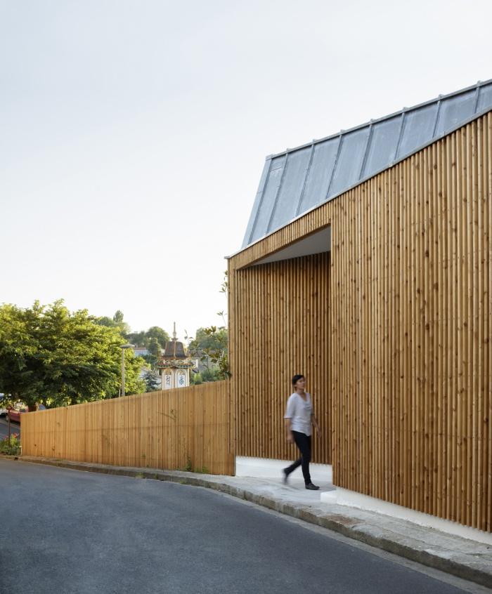 Extension en bois et restructuration d'une maison : 4
